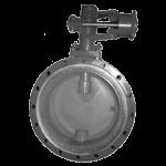 Затворы дисковые поворотные стальные